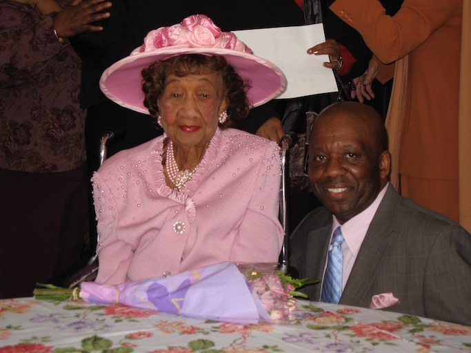 Calvin Earl and Dr. Dorothy Height