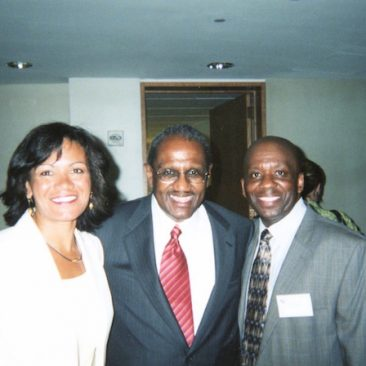 The Spirituals Project, Denver, CO founder Dr. Arthur C. Jones, and Connie Rule, executive director support Calvin Earl and the Twin Resolutions recognizing the African American Spiritual as a National Treasure.  Attending a Faith and Politics Congressional reception in Washington DC 2006.