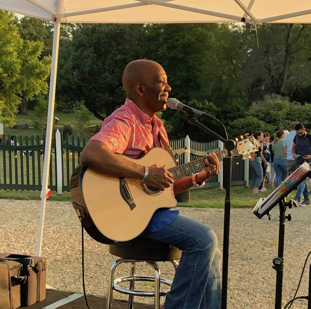 Calvin Earl at James Madison's Montpelier Estate